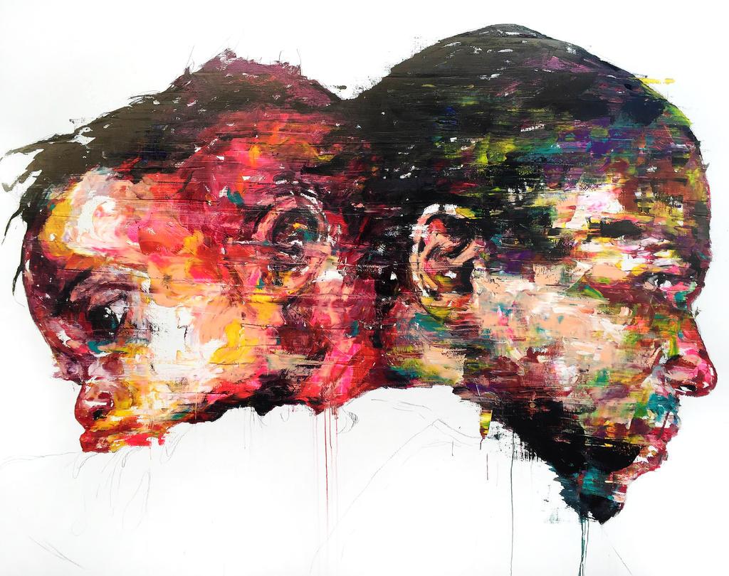 [15p68] Untitled Oil On Canvas 181.8 X 227.3 Cm 20 by ShinKwangHo