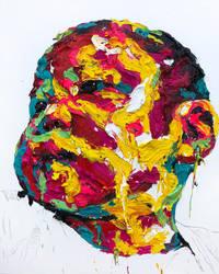 [18p17] untitled oil on canvas 162.2 x 130 cm 2018 by ShinKwangHo