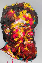 [18p19]  untitled oil on canvas 193.9 x 130.3 cm by ShinKwangHo