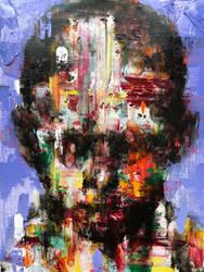 [18p27]  untitled oil on canvas  116.8 x91 cm 2018 by ShinKwangHo