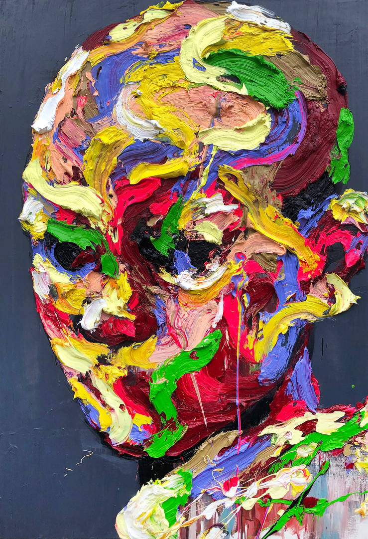 [18p28] untitled oil on canvas 162.2 x 113 cm 2018 by ShinKwangHo