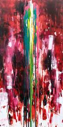[18p30]  untitled oil on canvas 162.2 x 97 cm 2018 by ShinKwangHo