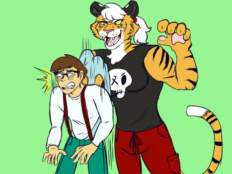 Tiger Wedgie by wedgiedog