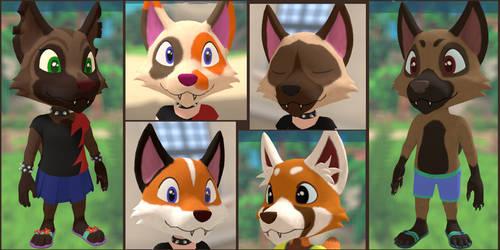 Wolf Head Variants