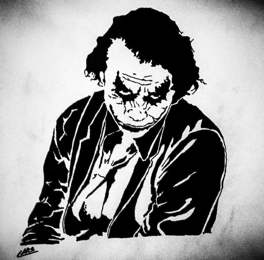 heath ledger joker wallpaper why so serious
