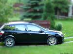 Opel Astra - matchbox size