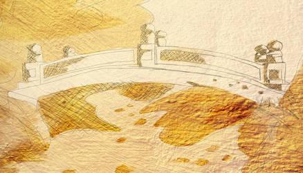 The bridge of Gold by UnendingDreamer