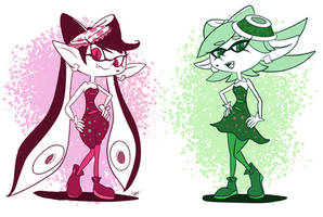 Squid Sisters by Cogmoses
