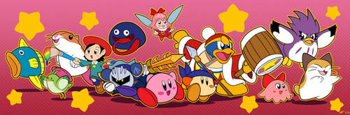 Kirby Collage by Cogmoses