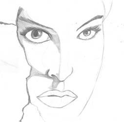 Natalie Portman Black Swan WIP