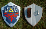Hylian Shield: Skyward Sword cosplay