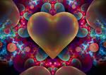 glossy heart IV