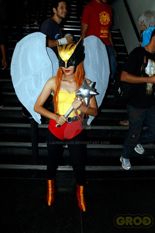 Hawkgirl cosplay by LaurinhaxD