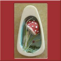 Mushroom scene by nativeart