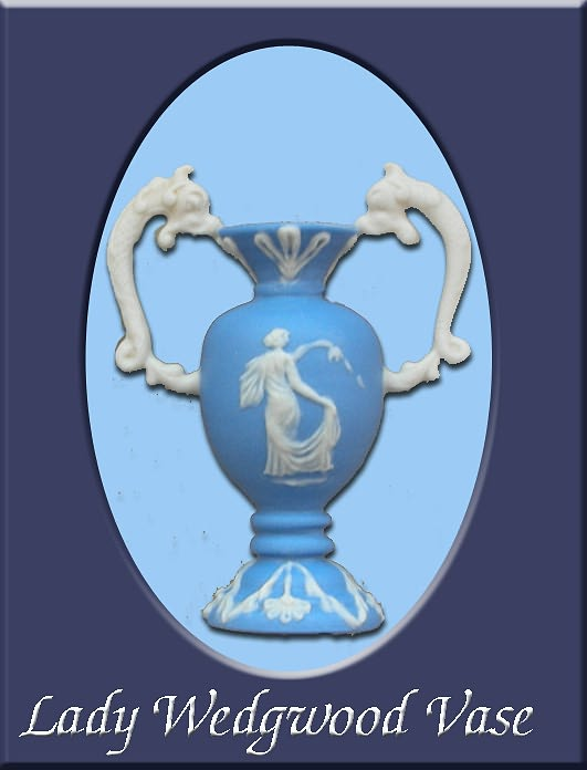 Wedgwood Lady - Miniature Vase by nativeart