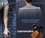 LobitaWorks Glove Measurement Guide