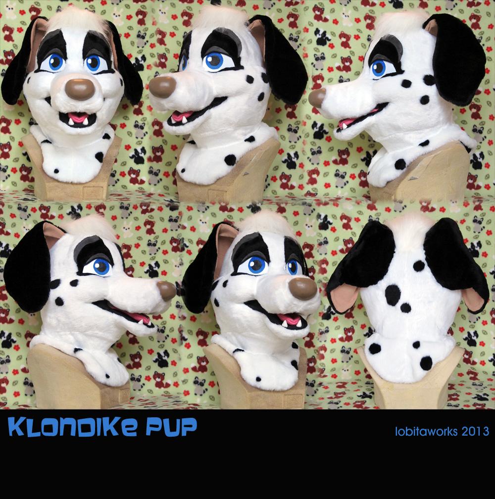 Klondike Dalmatian Head by LobitaWorks