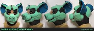Lazer Hyena Foamed Head