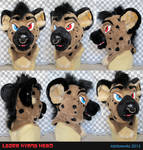 Lazer Hyena Head