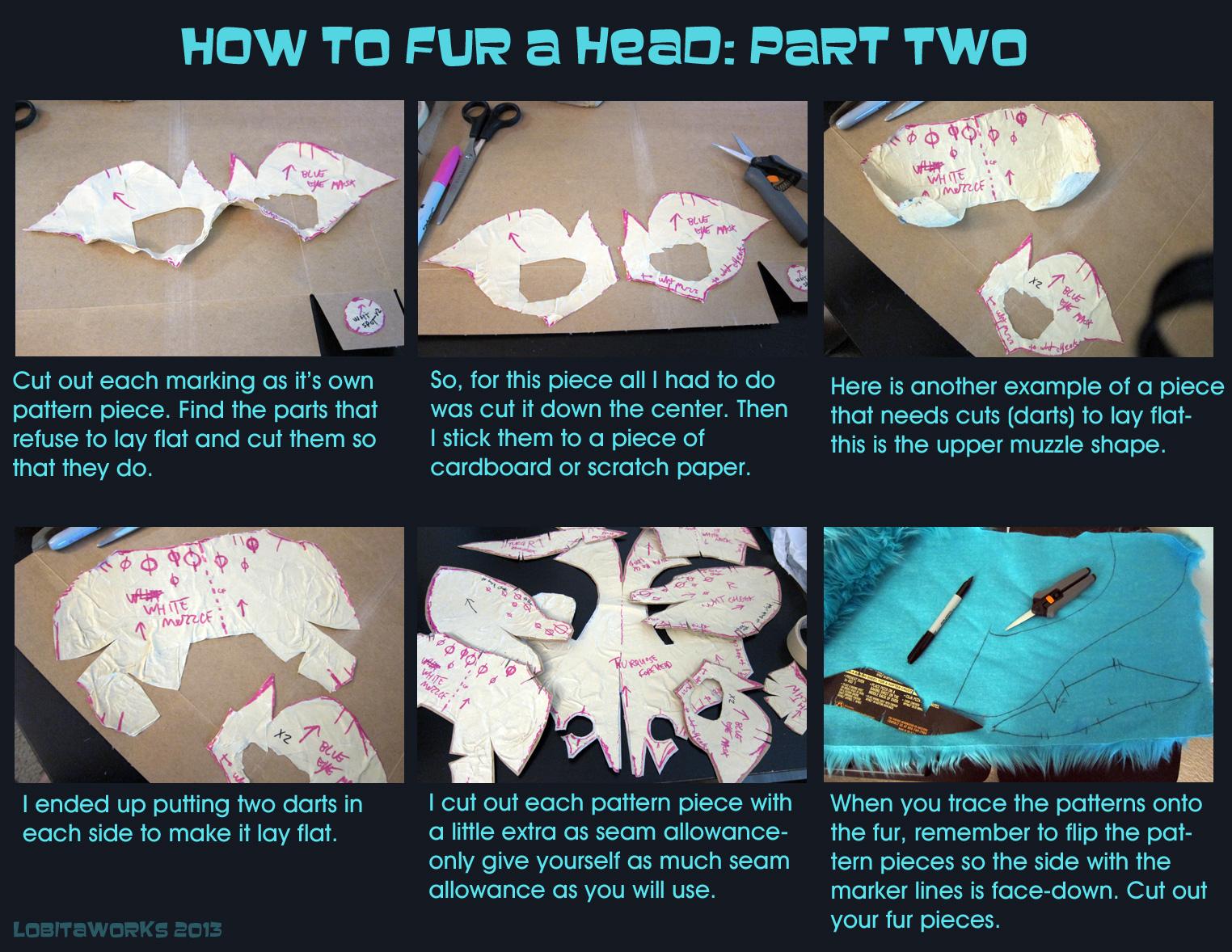 Lobitaworks 484 23 How To Fur A Head Pt 2 By Lobitaworks