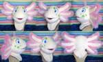 Axolotl Fursuit Head
