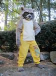 Rocket Raccoon Cosplay by LobitaWorks