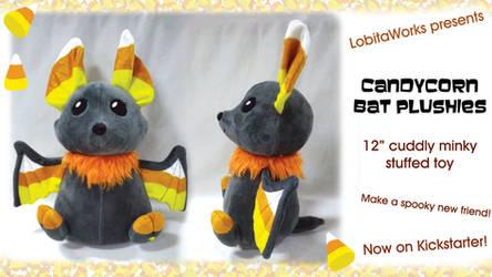 Candycorn Bats on Kickstarter! by LobitoWorks