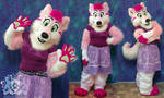 Rosie the Wolfdog Partial Suit