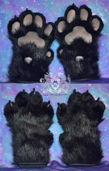 Black Feral Paws for Sale