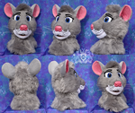 Eve the Rat fursuit head