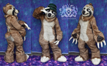 Noodle Sloth Fursuit