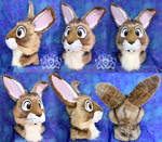 Bunny Fursuit Head