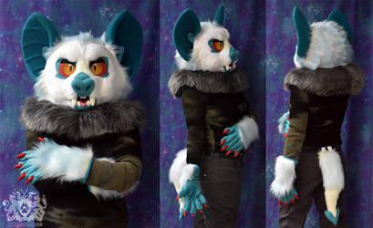 Ghost Vampire Bat Partial Suit by LobitaWorks
