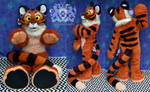 Plush Tiger by LobitaWorks
