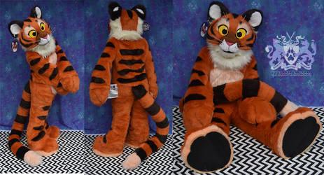 Plush Tiger Fullsuit 2 by LobitaWorks
