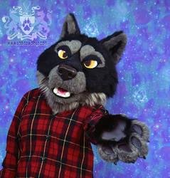 Wolf Fursuit AUCTION by LobitaWorks