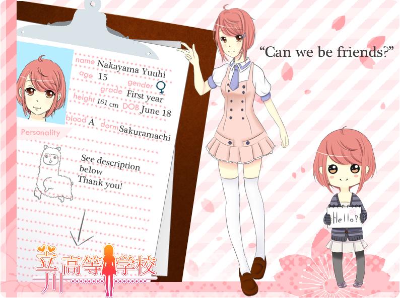 TH app: Nakayama Yuuhi by Juuri-No-Sekai