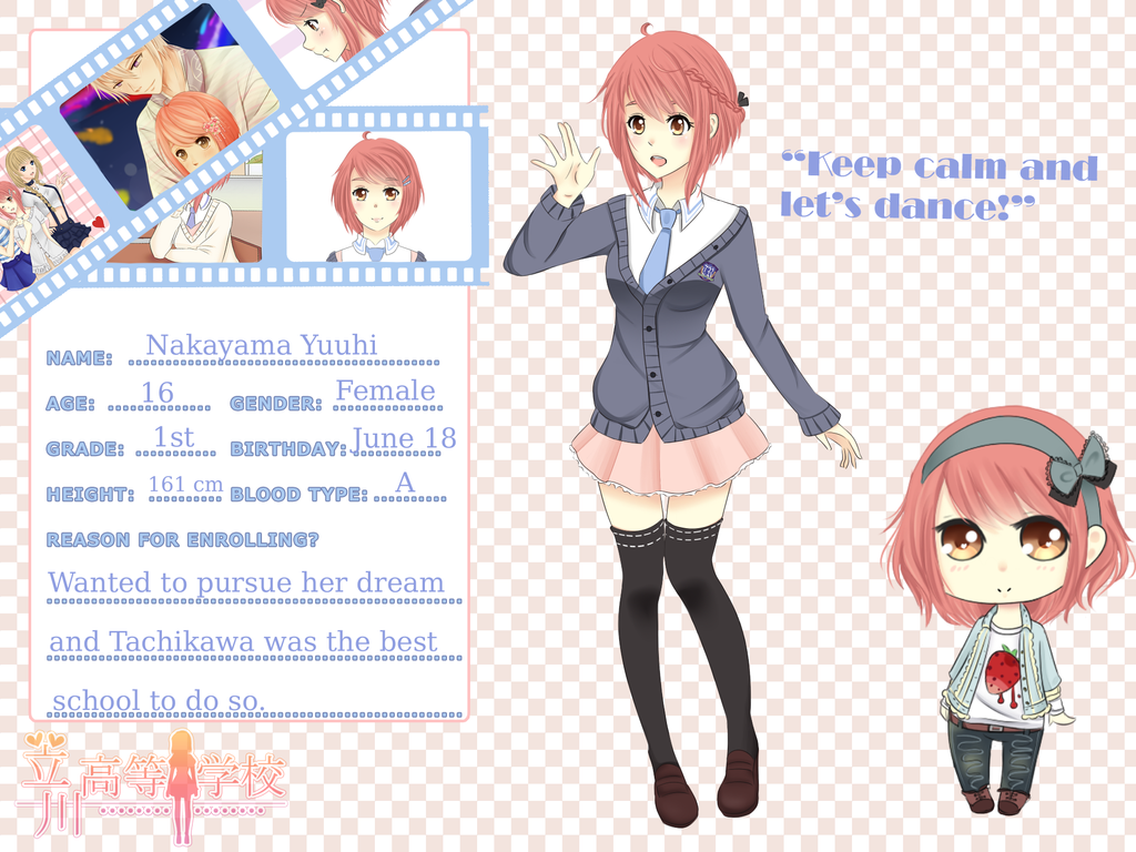 TH app: Nakayama Yuuhi (revamp) by Juuri-No-Sekai