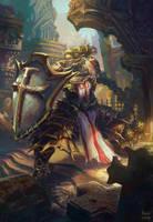 Crusader - Diablo 3: Reaper of Soul Contest by maxvu88
