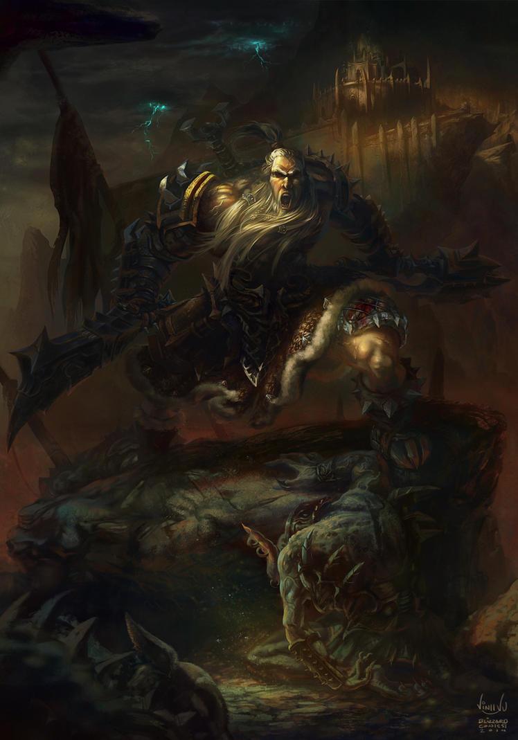 Barbarian - Diablo 3: Reaper of Soul Contest by maxvu88