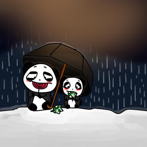 Cute pandas by donnita-sama