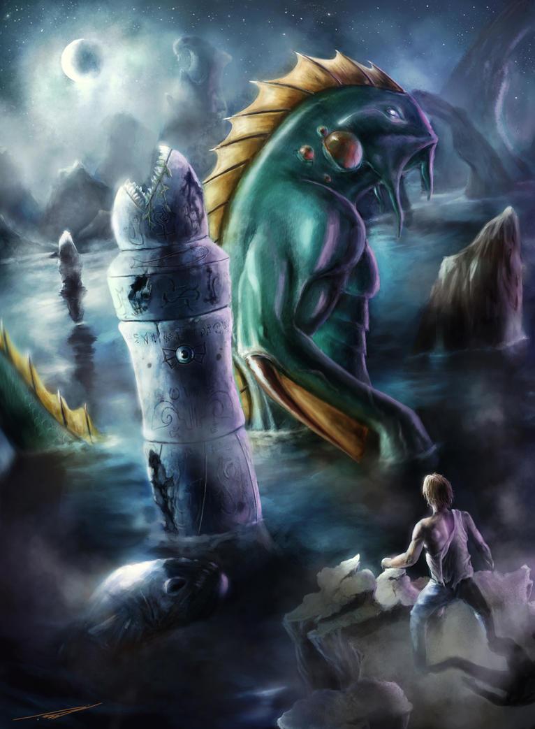 Dagon by blewzen
