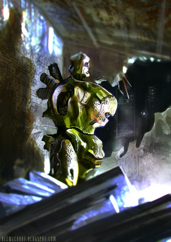 Cryogenic robot by blewzen
