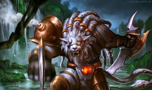 League of Legends: Rengar fanart