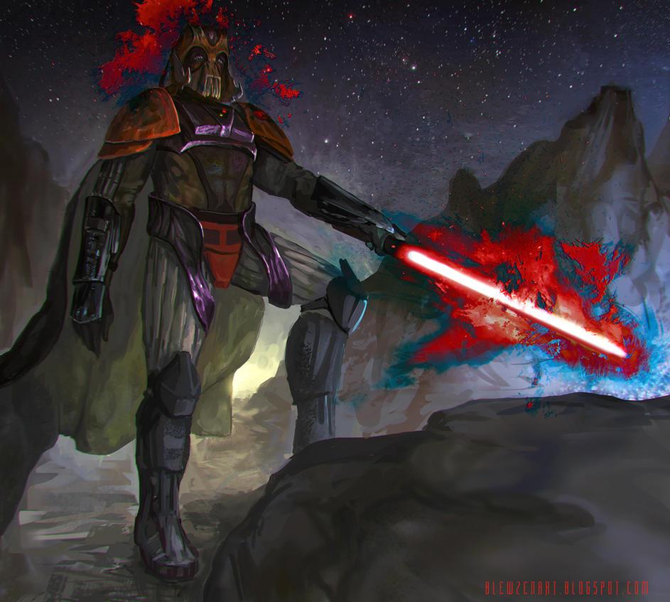 Darth Vader - redesign by blewzen