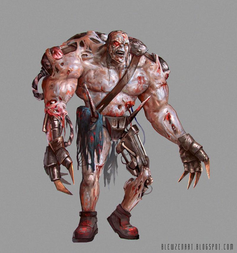 Big cyber zombie by blewzen