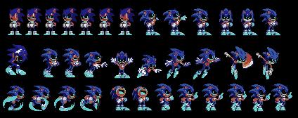 Opposite bin Sprites (Opposite Sonic exe) (Alt  3) by