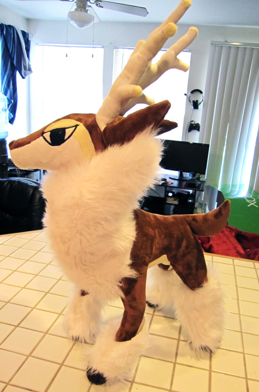 Winter Sawsbuck Plush by Chochomaru