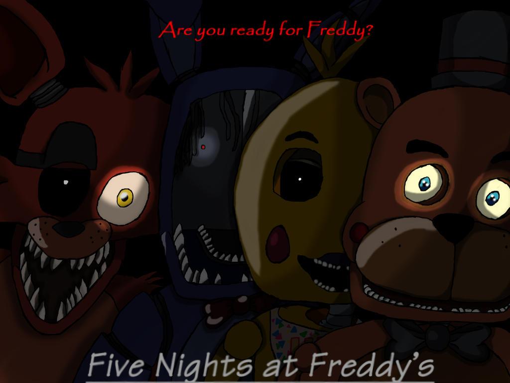 Fnaf movie poster by bloodywolfiechan on deviantart