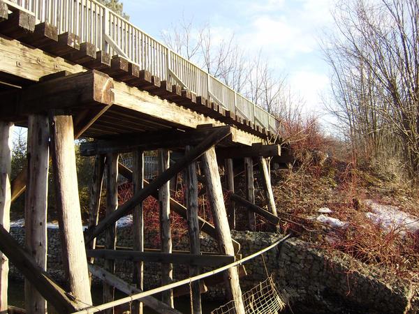 Old train bridge by laurennn3